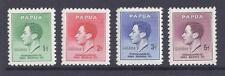 PAPUA, 1937 KGV1 CORONATION, SG 154-5, MNH SET 4.