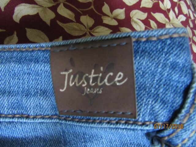 PAIR OF JEANS FROM JUSTICE FOR TEENAGE GIRLS SIZE 8/10