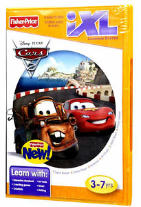 Fisher-Price-Disney-Pixar-Cars-2-iXL-Learning-Center-Software-Game