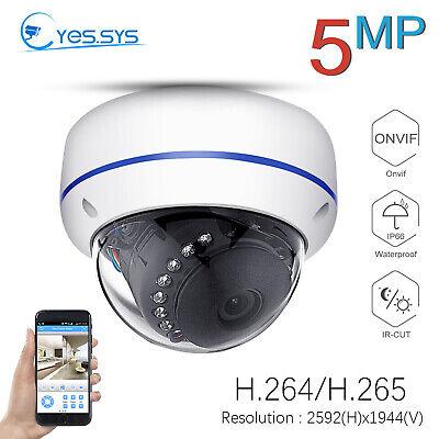 Eyes.sys H.265 1080P IP 15IR 2MP//3MP//5MP CCTV HD POE DOME Camera ONVIF RTSP NVR