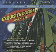 BOOK/AUDIOBOOK CD Gr 4+ Progressive Story Game THE EXQUISITE CORPSE ADVENTURE