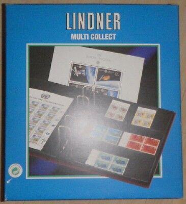 Art.1302 Ausreichende Versorgung kassette Zf 015 Lindner ohne Blätter multi Collect-album Rot