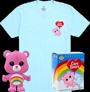 T-shirt New in Box Cheer Bear Flocked Funko Pop Vinyl
