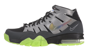 Nike Mens Air Trainer Max '94 Prm Qs Silver/Black-Anthracite 632194-001 size 8
