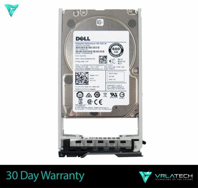 "K1JY9 Dell 600GB 10K 2.5"" 6GBPS SAS Hard Drive ST600MM0088 0K1JY9"