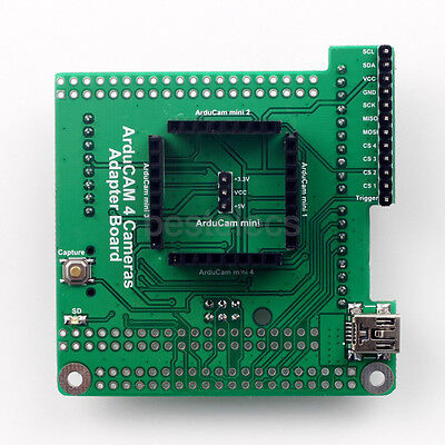 Arducam Multi Camera Adapter Board 2MP 5MP Mini Camera Module UNO R3 for Arduino