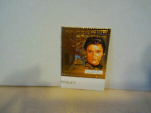elvis-presley-034-timbre-034-plaque-or-034-en-relief-034-elvis-dans-034-easy-come-easy-go-034-neuf