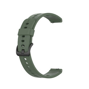 For Huawei Band B6/TIMEX TW2T35400 16mm Silicone Watch Band Wristband Soft Strap