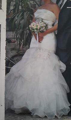 Abito Da Sposa - Vestito Nozze - Angela Pascale Tg 42 Senza Ritorno