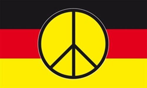 1,50x0,90m Neu Frieden Germany Deutschland mit Peace Fahne Fahnen Flagge Gr
