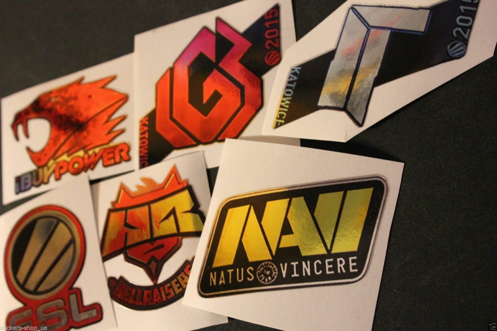 x12 stickers set from CSGO cs go in Real Life Counter Strike offensive ibp swag
