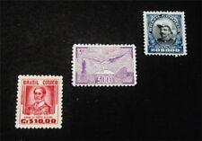 nystamps Brazil Stamp # 526 C25 O25 Mint OG H $44