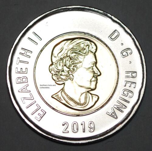 Canada 2019 2 Dollar BU Canadian Toonie Polar Bear Uncirculated Coin