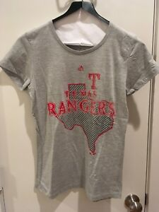 Texas Rangers Womens Shirt Size Medium