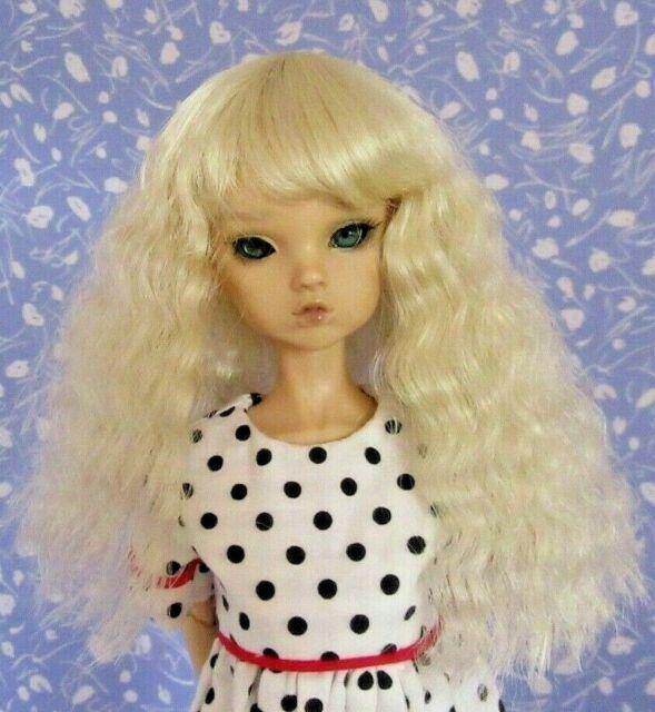 Monique ELISE  Pale Blond Full Adj. Cap Doll Wig Size 6-7  Classic, Darling