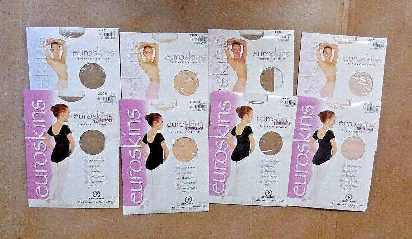 XXL S//M 7 colors Style 210 Eurotard Adult Convertible Dance Tights L//XL