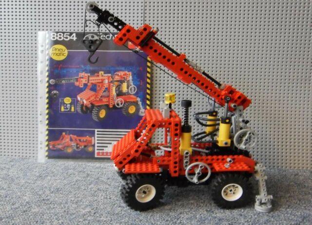 Lego Technic Kran 8854 Pneumatic Günstig Kaufen Ebay