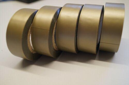 Isolierband 5 x Fensterklebeband gold Klebeband 10 Meter x 19 mm mattgold