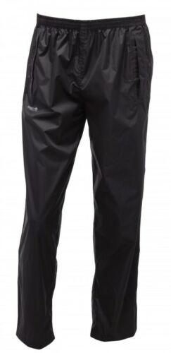 Regatta Pack It Mens Waterproof Trousers Black