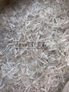 450-650pcs-Lot-Natural-Clear-Quartz-Crystal-Points-1-2Lb-Terminated-Wand-Healing