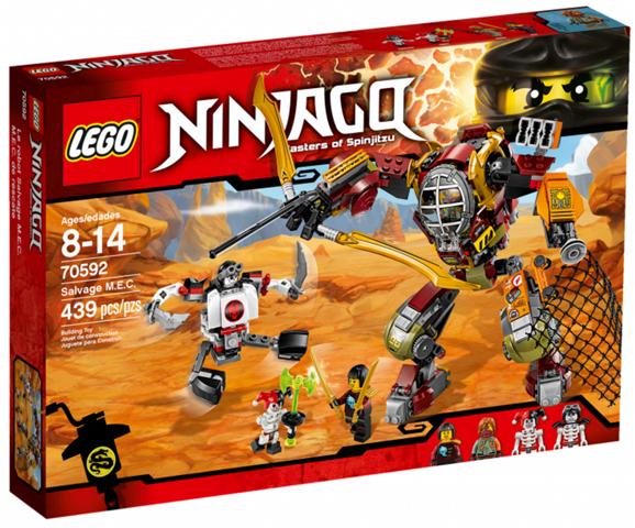LEGO 70592 NINJAGO Schatzgräber M.E.C.   NEU+OVP+Ungeöffnet  | Ein Gleichgewicht zwischen Zähigkeit und Härte
