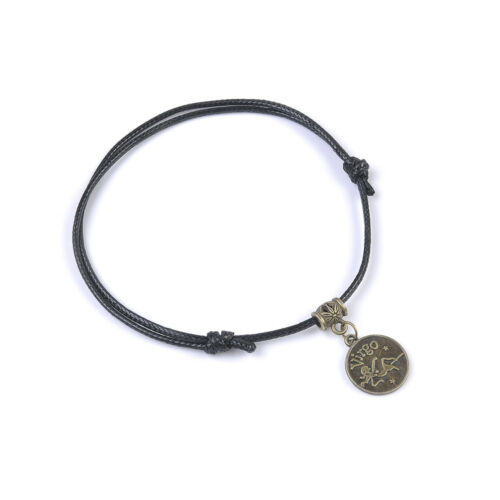 Retro 12 Constellation Anklet Ankle Bracelet Barefoot Sandal Beach Foot Jewelry