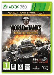 World-OF-TANKS-Xbox-360-MOLTO-BUONO-PAL-1st-Class-consegna