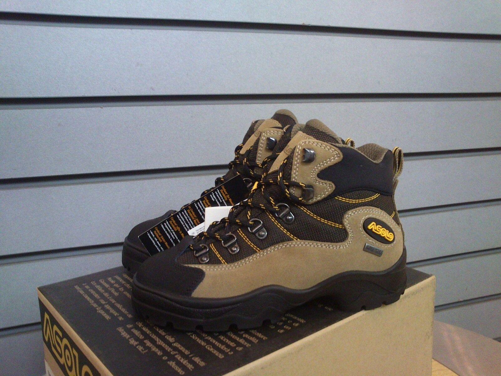 SHOES shoes TREKKING HIKING JUNIOR ASOLO TIGER GTX GORETEX 0M5283 501 ALPACA BR