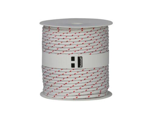 Hummelt® SilverLine-Rope Schot Seil Polyesterseil 4mm 100m auf Rolle