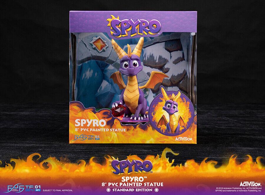 Spyro The Dragon  8   PVC Statue 25cm First 4 Figurines Norme Édition nouveau en  acheter en ligne