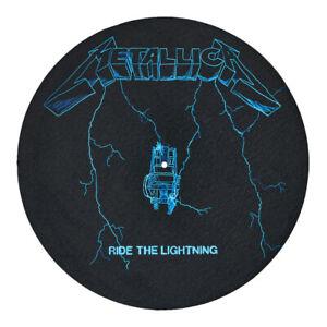 Metallica - Ride The Lightning - Single Slipmat Black / Blue