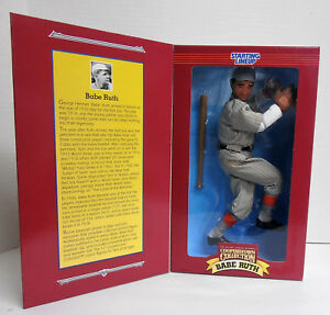 1996 Starting Lineup Babe Ruth Poseable Figure Cooperstown Collection NIB  NRFB