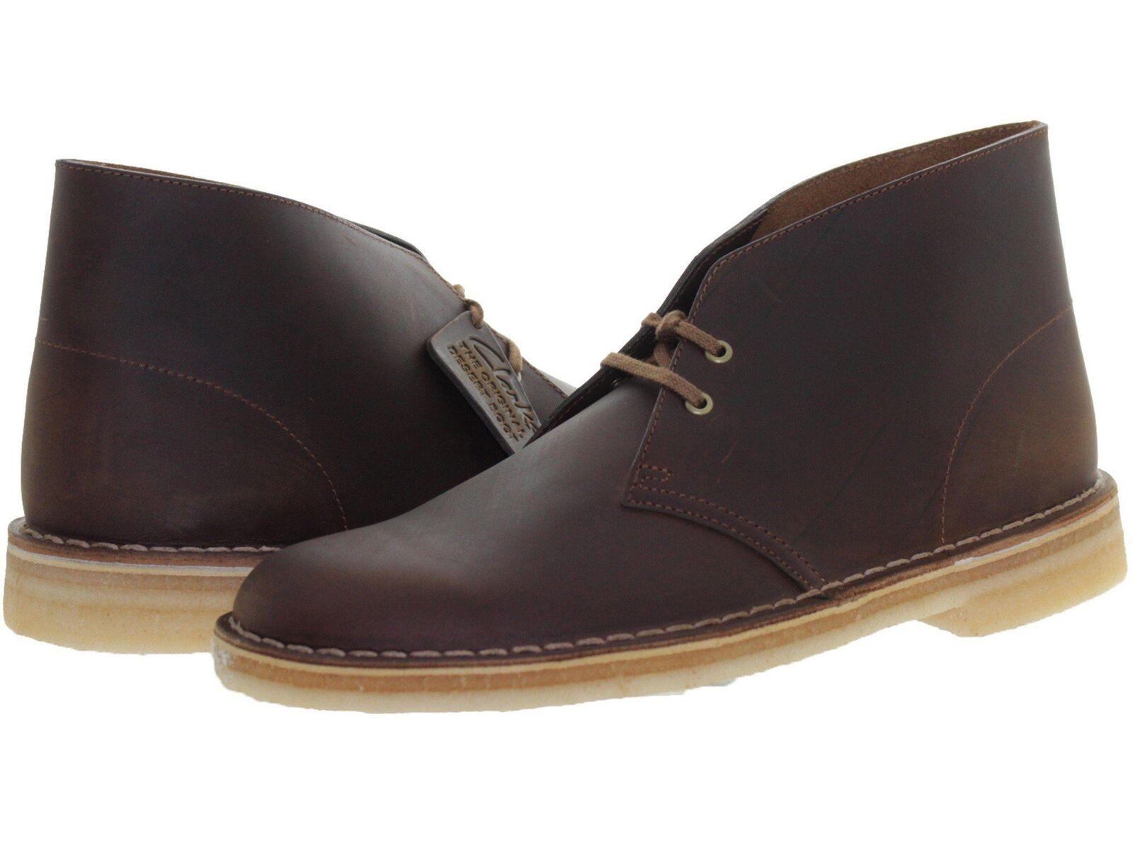Clarks Para hombre Beeswax (Marrón) 26106562 del Desierto botas Formales informales