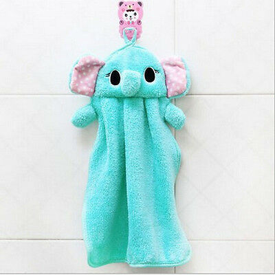 Children Cartoon Absorbent Hand Dry Towel Lovely Towel For Kitchen Bathroom Use