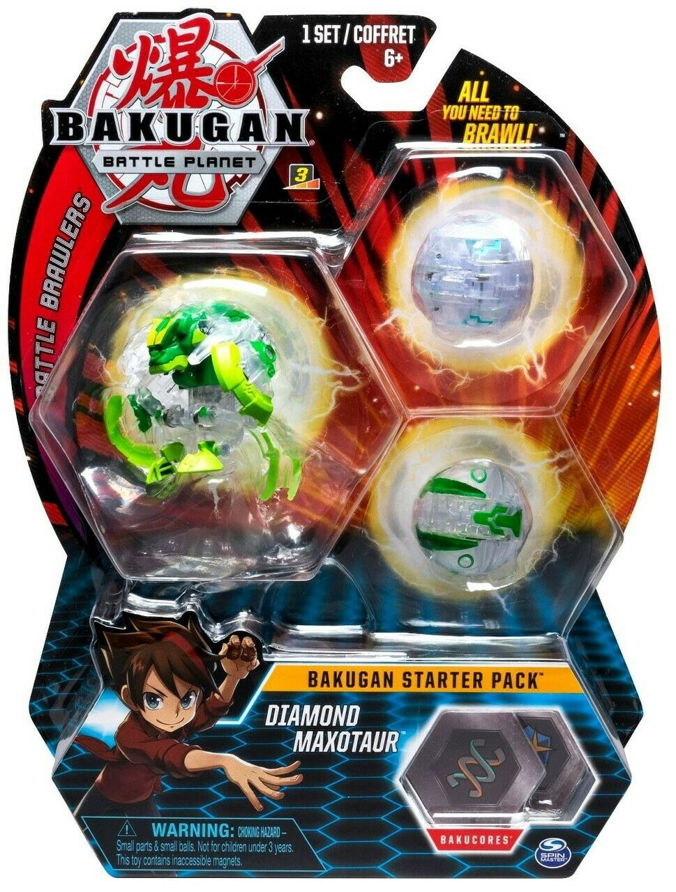 Bakugan battle Planet Diamond Maxotaur