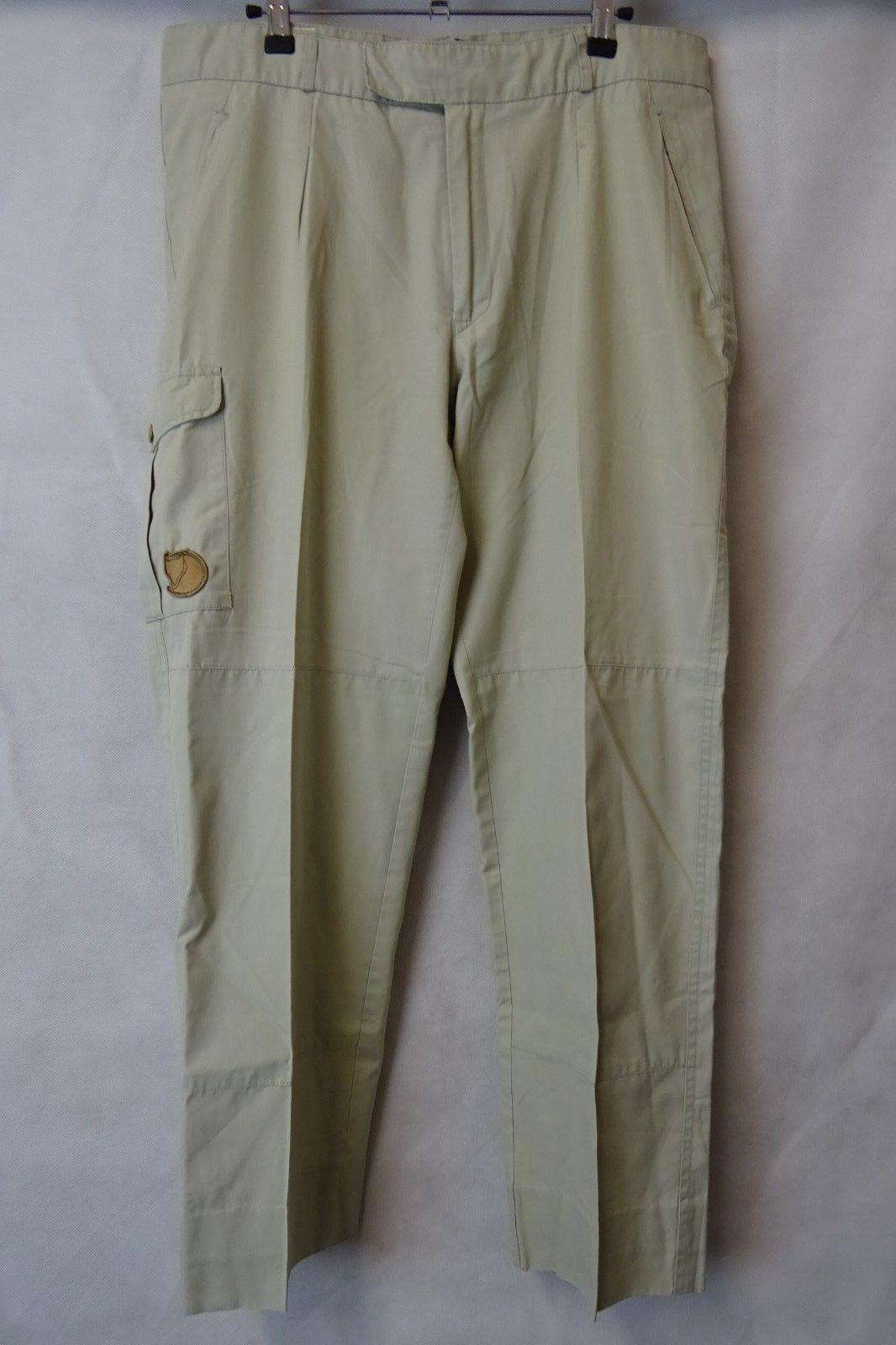 Men's Fjallraven Outdoor Trousers Trekking Combat Größe W36 L30 AA2521