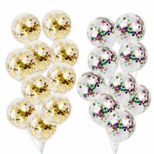 10pcs-Gold-Foil-Confetti-Latex-Balloons-Wedding-Birthday-Party-Decoration-12inch