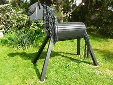 120cm Holzpferd Holzpony Voltigierpferd Spielpferd Pony Pferd mit Maul  NEU