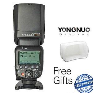Yongnuo-YN600EX-RT-II-TTL-Wireless-Flash-Speedlite-for-Canon-650D-60D-YNE3-RT-UK