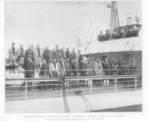 1898-Antique-Print-AMERICA-Moorish-Government-Steam-Ship-Al-Hassani-313