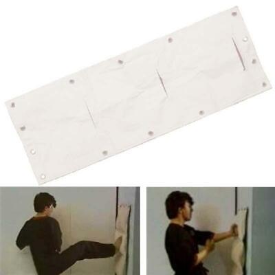 WING CHUN Kung Fu sand Wall bag 3 Section TORSO Martial Arts Makiwara Strike pad