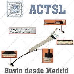 Cable De Video Lcd Flex Para Acer Aspire Dc02000j500 (with Camera Connector) Vmdwor2a-07215305-549588720