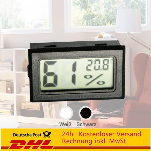 thermomètre Hydrometer humide-couteau 5//10 pièce Digital LCD Hygromètre
