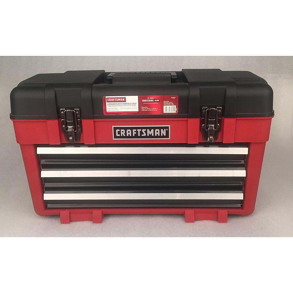 Craftsman 23 Quot Wide Portable Tool Chest Organizer Garage