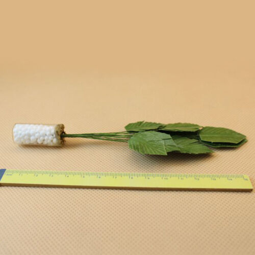 1//12 Scale Dollhouse Miniature Potted Clay Tree Plant Green Plant Garden Tools