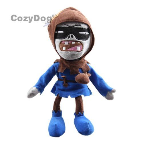 Plants vs Zombies PVZ Graverobber Zombie Plush Toy Stuffed Doll 11/'/' Figure