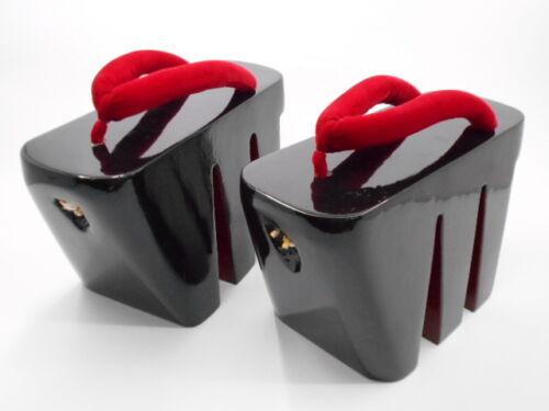 Women/'s Japanese Oiran Tayu 3 Leg Koma Geta Clog Flip-flop Cosplay Slipper Shoes
