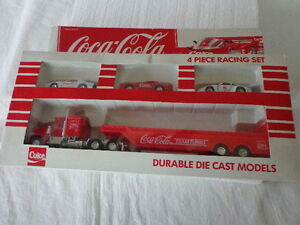 Hartoy Inc Coke Toy Coca Cola Die Cast Plastic 1 64 Team Turbo Race