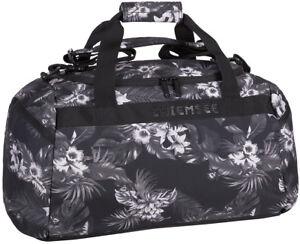864dc10297b56 Das Bild wird geladen CHIEMSEE-Matchbag-Medium-Sporttasche-Reisetasche- Tasche-Beachbreak-Schwarz-