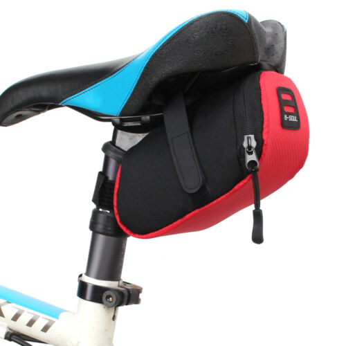 Outdoor Waterproof Bike Bicycle Cycling Saddle Bag Tail Rear Pouch Seat Storage